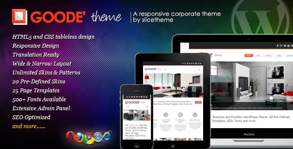 goode 35 Impressive WordPress Themes of April 2012