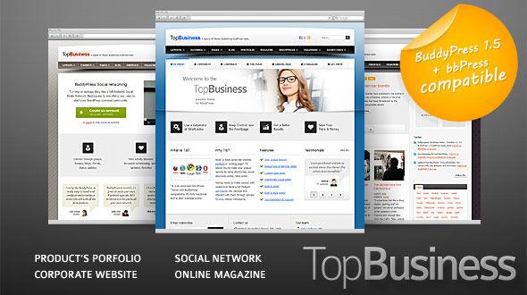 top business 35 Impressive WordPress Themes of April 2012