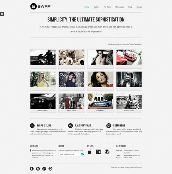 swap Best 30 WordPress Themes of June 2012