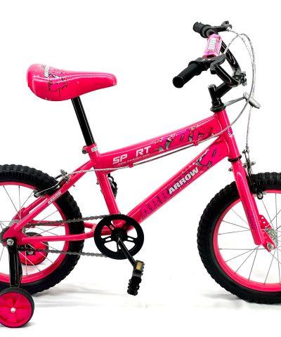 Arrow – 16″ Bicycle Pink