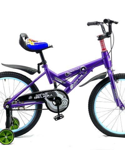 "Safari – 20"" Bicycle Purple"