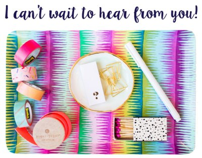 Contact // I can't wait to hear from you! // Katie Williamsen Web & Social Media, LLC