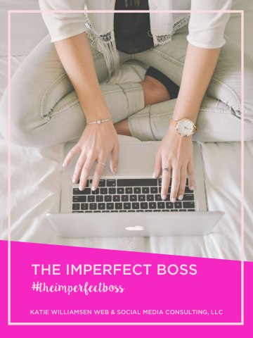 Are you tired of the perfection that exists on social media? Have you had enough, too? Join us in a rebellion against perfect next week. Hundreds of women are coming together to post confessions of what it really looks like to go for your dreams and be your own boss. You are invited. www.bit.ly/imperfectboss #theimperfectboss
