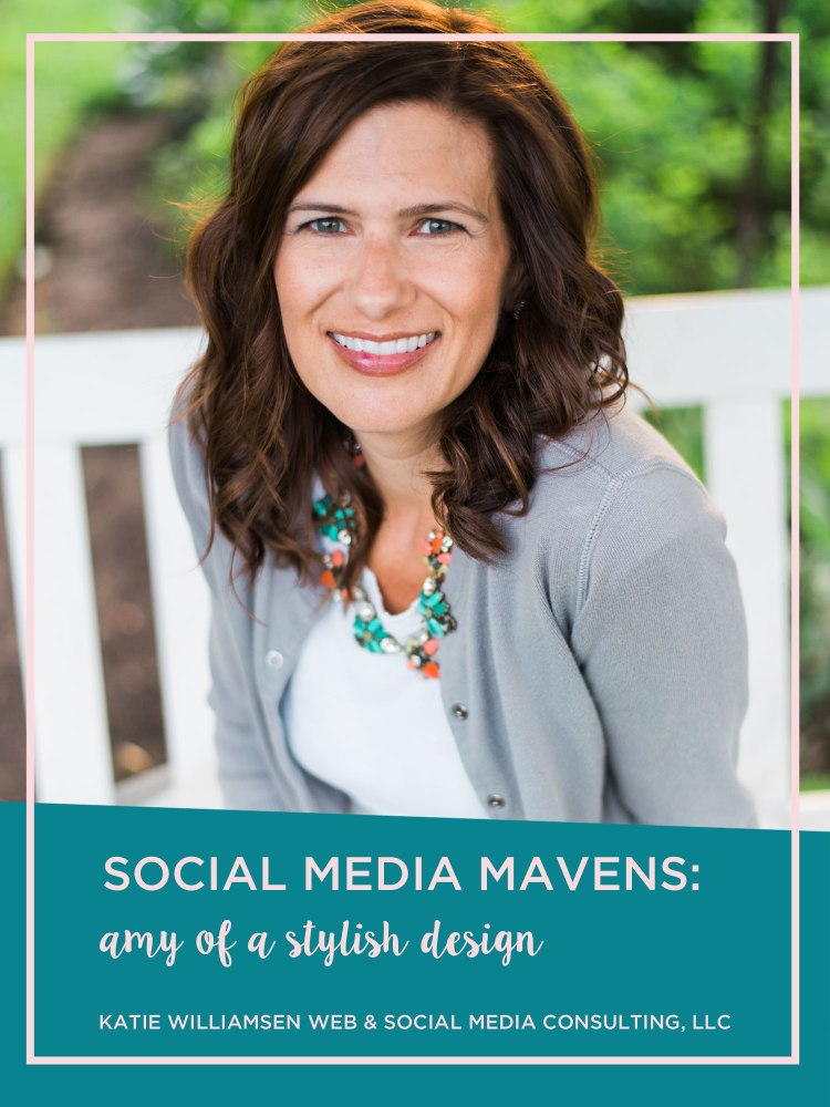 Amy Homan of A Stylish Design shares her social media strategy and more!