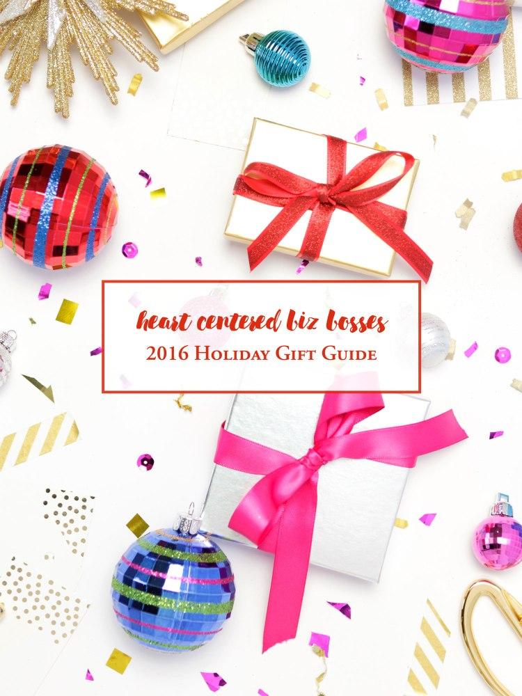 Heart Center Biz Bosses Holiday Gift Guide 2016 - cover