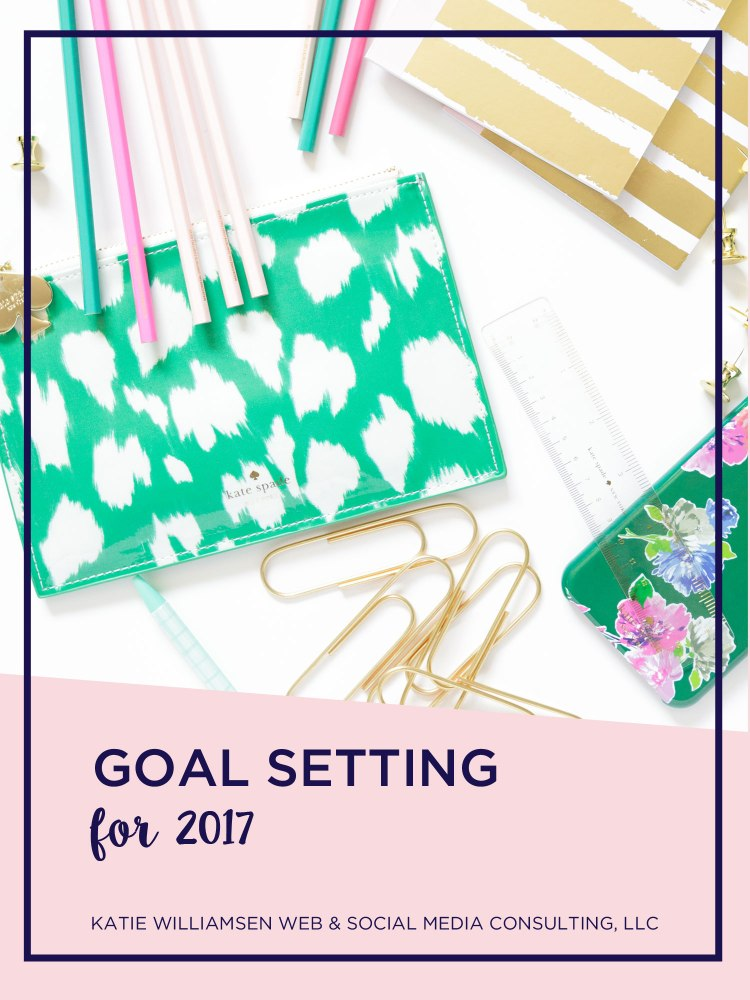 Planning for 2017 with Goal Setting