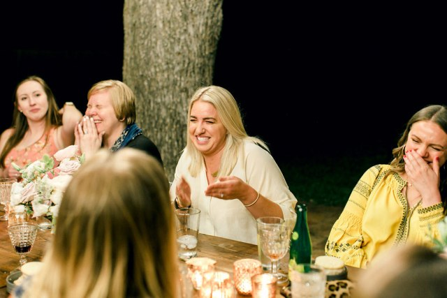 lots of laughs during dinner at illume // My Top 5 Take-Aways from Illume Retreat