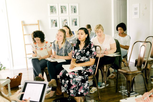 Learning from amazing biz ladies at illume // My Top 5 Take-Aways from Illume Retreat