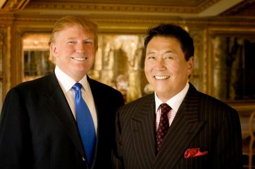 meet robert kiyosaki and donald trump