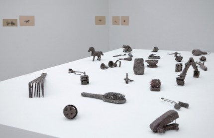 Amol K Patil, Sweep Walkers, 2015, installation view