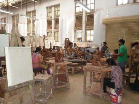 Baroda Fine Arts Faculty Sculpture Department