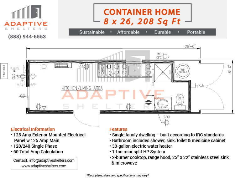 Residential Container