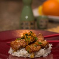 #SundaySupper Orange Chicken #Dinner