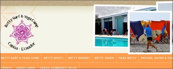 http://www.omadventuretravel.com/Betty__Surf_Yoga_Camp.html