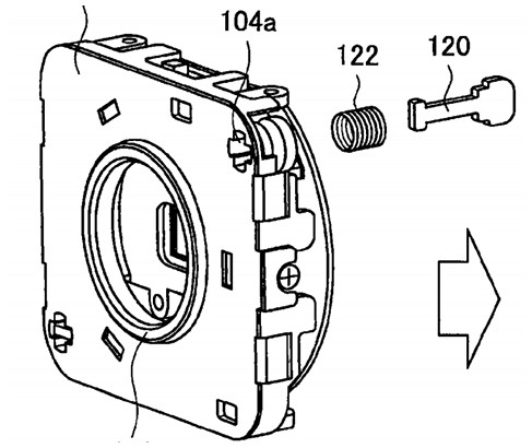 Sony patent shows Z-shift sensor mechanism!