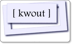 http://kwout.com