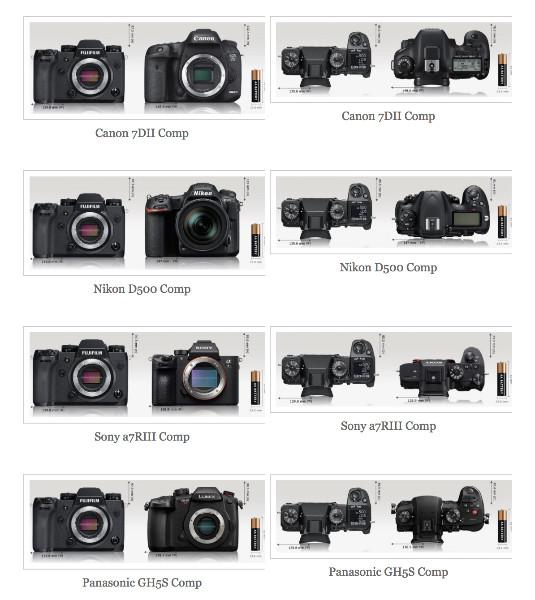 https://fujiaddict.com/2018/02/15/fujifilm-x-h1-popular-competitor-camera-size-comparison/