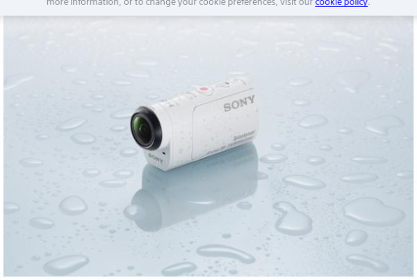 Our new IFA products – The Sony HDR-AZ1VR Action