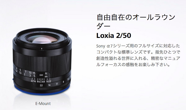Loxia 2/50 | ZEISS
