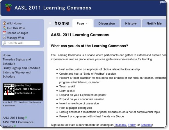 http://aasl2011learningcommons.wikispaces.com/