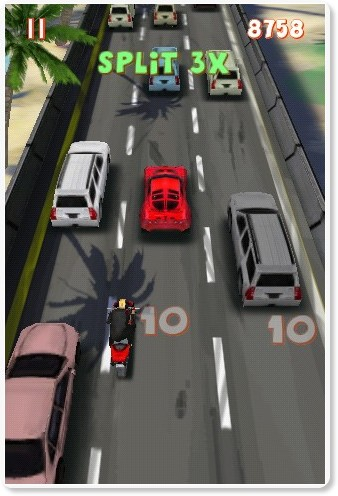 http://itunes.apple.com/us/app/lane-splitter/id392084834?mt=8