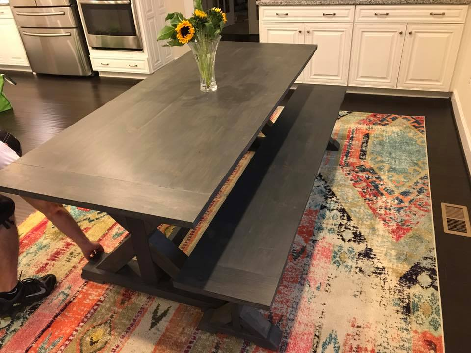 Rustic Kitchen Table Delaware
