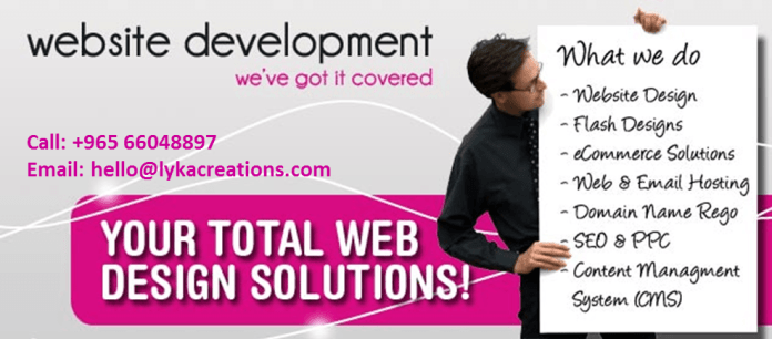 Total Web Design Solutions in Kuwait