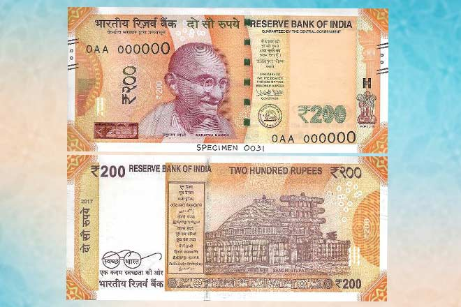 Reserve Bank of India to introduce Rs 200 note tomorrow