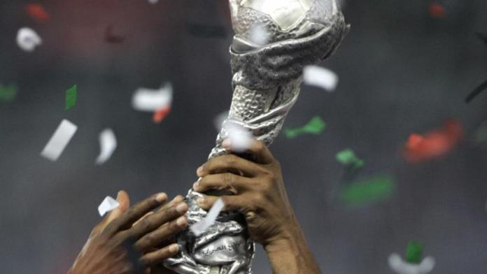 Kuwait receives Gulf Cup trophy from Qatar