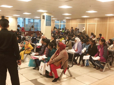 Relocated Farwaniya immigration department building open at Riggae