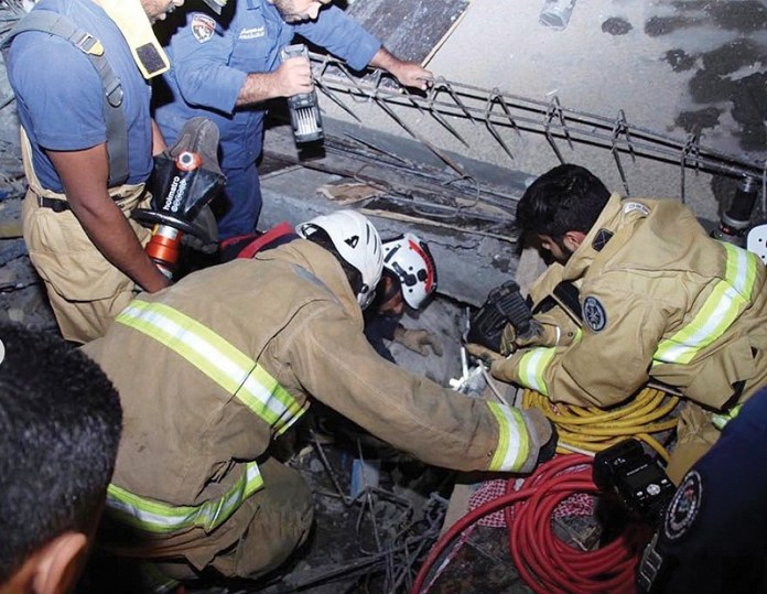 Three workers killed as roof of under construction mosque collapsed in Sulaibikhat