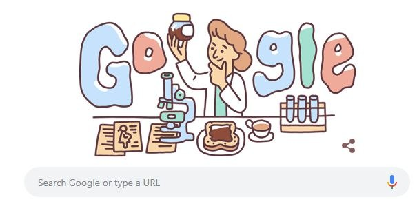 Google honors Lucy Wills who discovered folic acid