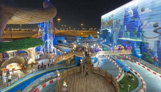 Qatar- Doha Festival City home to 'world's first' Angry Birds Nest
