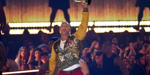 'The Rock' says 'I wasn't going to conform to Hollywood' at MTV Awards