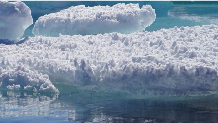 A research study stated that's ice in greenland may be freed by 3000