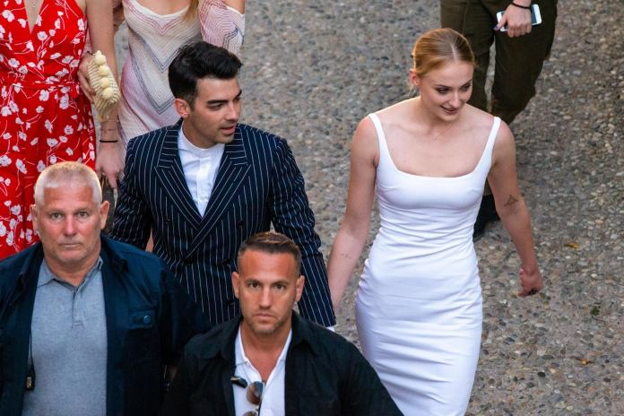 Joe Jonas and Sophie Turner wedding: Check out the first photographs from their wedding