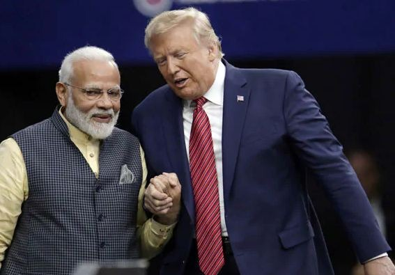 'Howdy, Modi!': Donald Trump greets Indian PM at memorable Texas Assembly