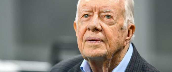 Ex-US president Jimmy Carter hospitalised after falling at his home in Georgia