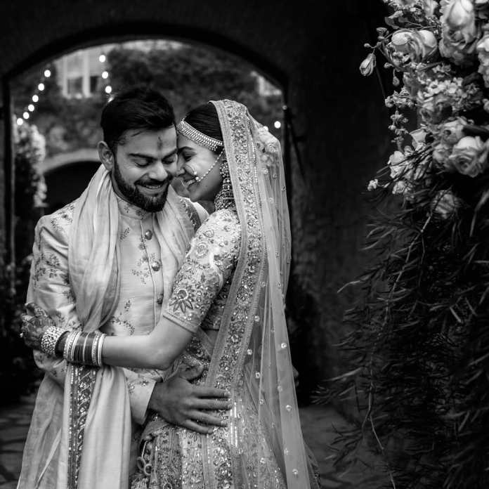 Mr. and Mrs. Kohli wishes each other Happy 2nd Wedding Anniversary
