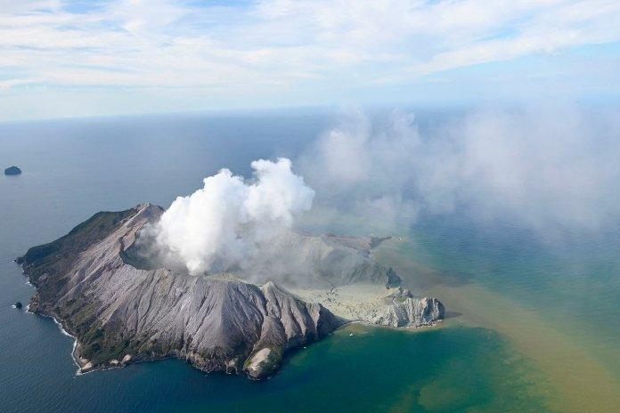 One man died, 50 were missing after being trapped in a volcano eruption in New Zealand