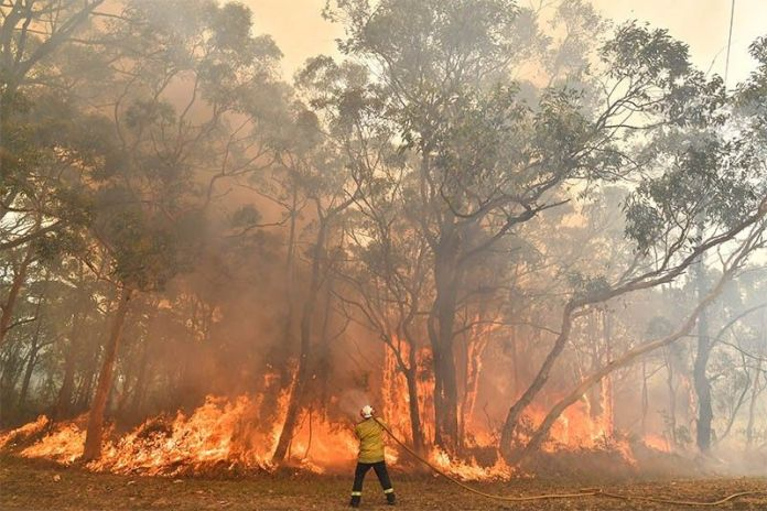 Australia: Canberra airport close down again because of bushfires blaze