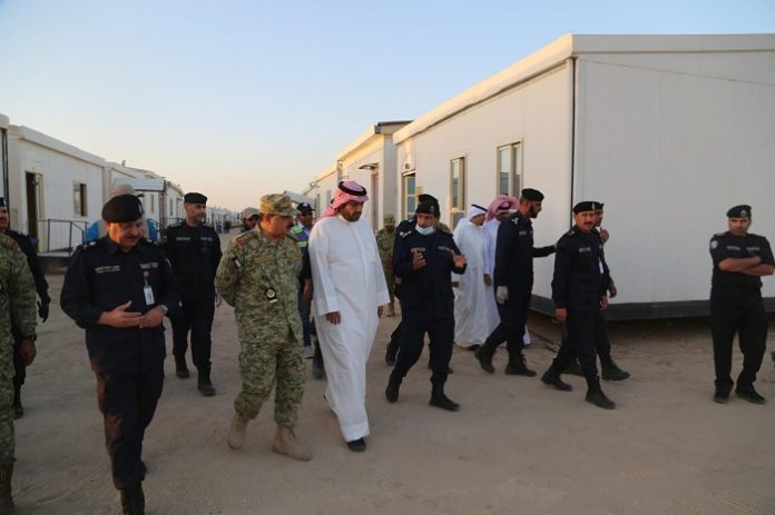 Deputy Prime Minister, Interior Minister and Minister of State for Cabinet Affairs Anas Al-Saleh toured on Saturday