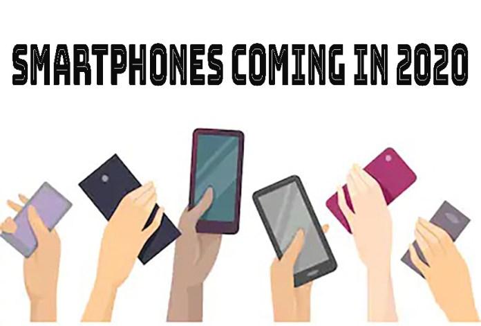Smartphones coming in the second-half of 2020