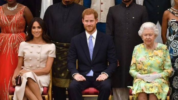 Buckingham palace responds to Meghan and Harry's claims