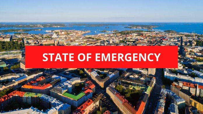 Finland declares state of Emergency due to pandemic