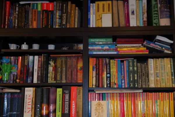 Biblioteczka - moja domowa