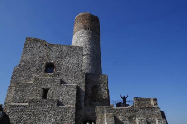 Zamek w Chęcinach - jestem Bogiem