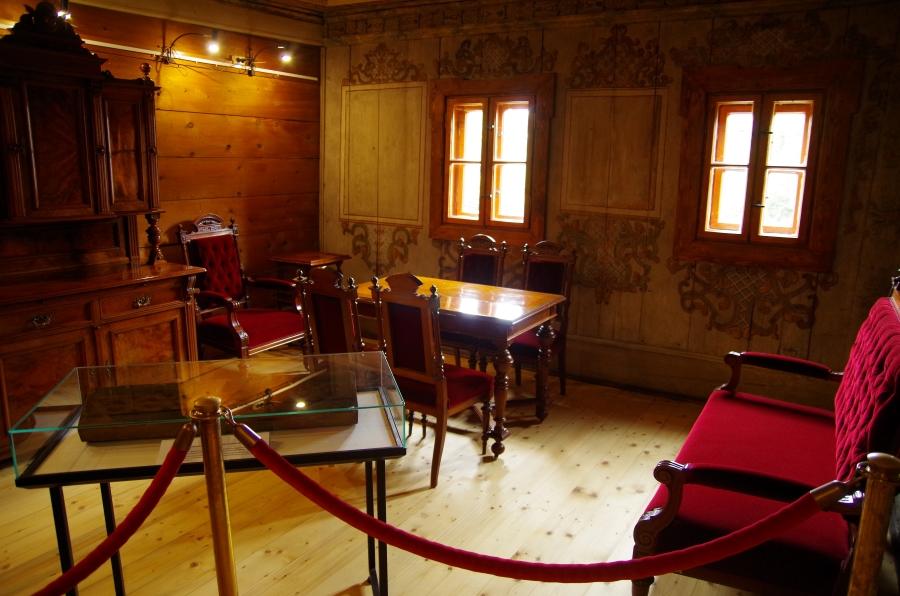 Uzdrowiska - Duszniki Zdrój - Muzeum Papiernictwa - wnętrze domu