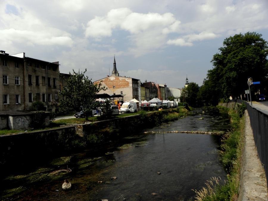 Uzdrowiska -Lądek Zdrój - nad rzeką