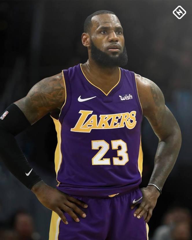 Lebron Lakers Image